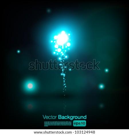 Beautiful vector fireworks - eps10