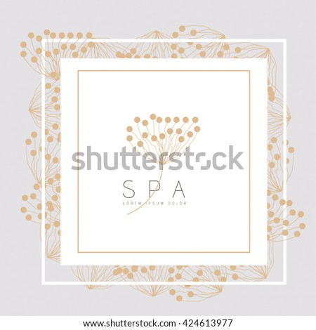 BEAUTIFUL VECTOR FLOWER LOGO / ICON