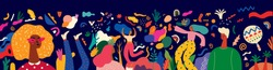 Beautiful vector illustration with design  for Brazil carnival