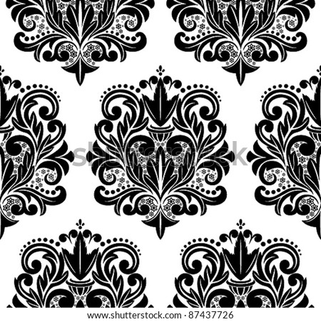 free damask vector pattern 2 download free vector art stock rh vecteezy com damask wallpaper pattern vector damask pattern vector free