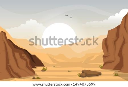 beautiful western desert