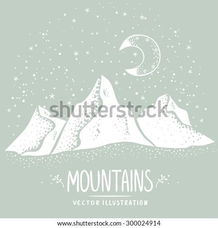 beautiful white silhouette
