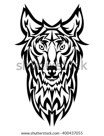 Cartoon Illustration Of The Head Logo Stock Photo 169304435
