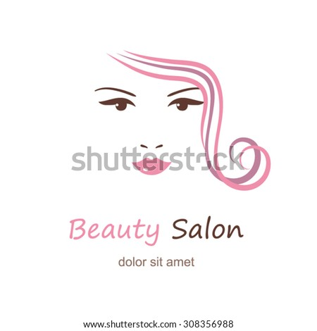 Beautiful womans face on white background beauty logo template beautiful womans face on white background beauty logo template fashion model vector illustration maxwellsz