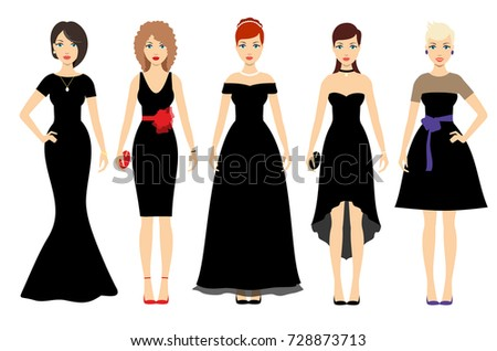 beautiful women in different
