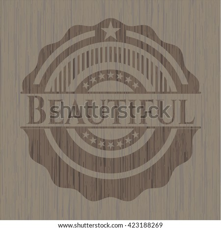 Beautiful wood signboards