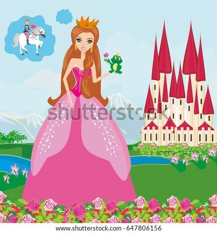 beautiful young princess and