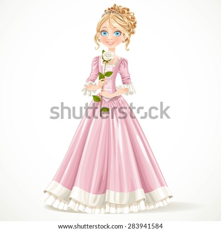 beautiful young princess in a