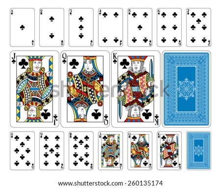 Beautifully crafted new original playing card deck design.  Bridge size Club playing cards plus playing card back