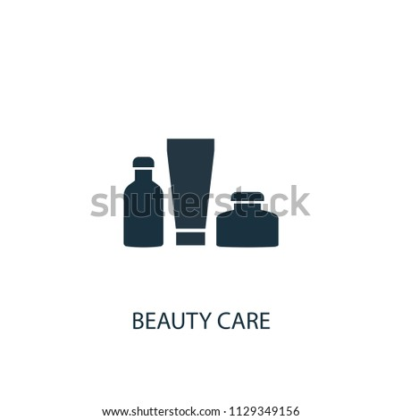 beauty care creative icon. Simple element illustration. beauty care concept symbol design from Beauty collection. Can be used for web and mobile.