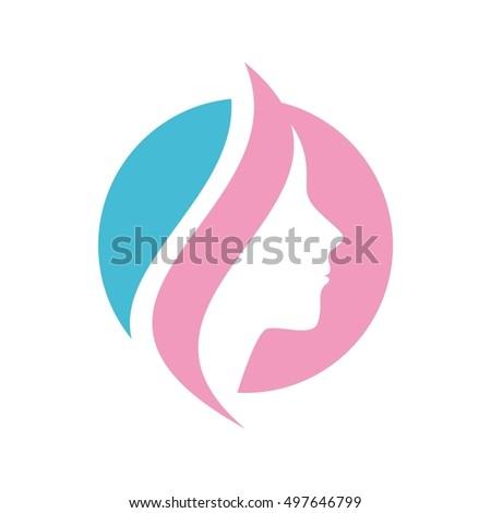 Beauty care logo vector