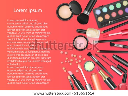 beauty cosmetics makeup with