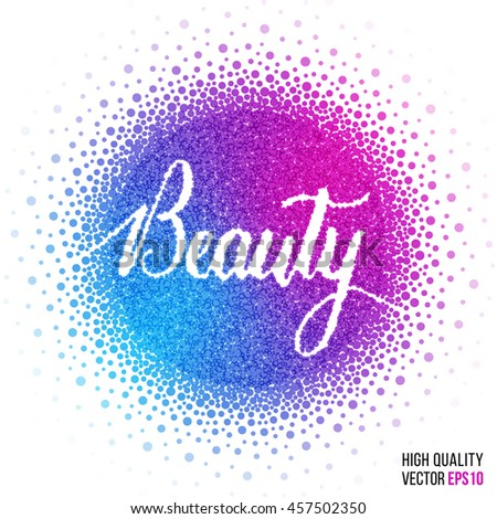 beauty design for greeting card
