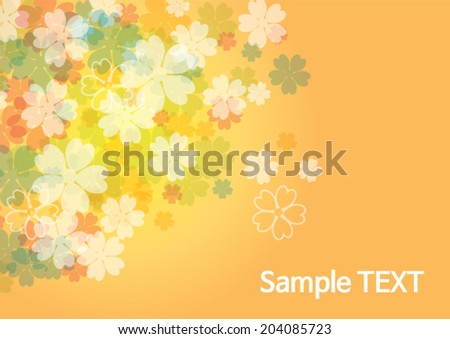 beauty flower background