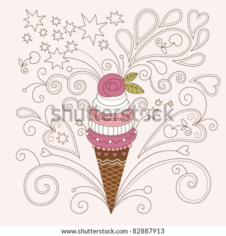 beauty ice cream