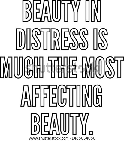 beauty in distress is much the