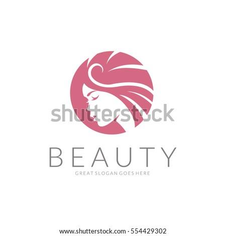 Beauty logo - Shutterstock ID 554429302