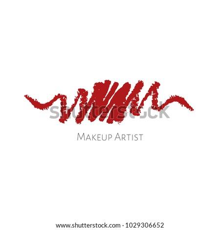 beauty makeup artist logo