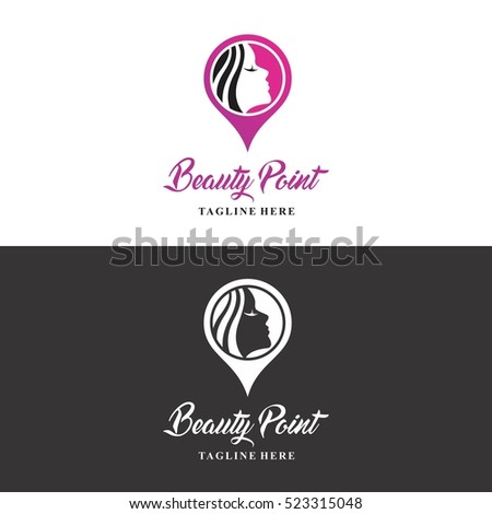 beauty point logo in vector