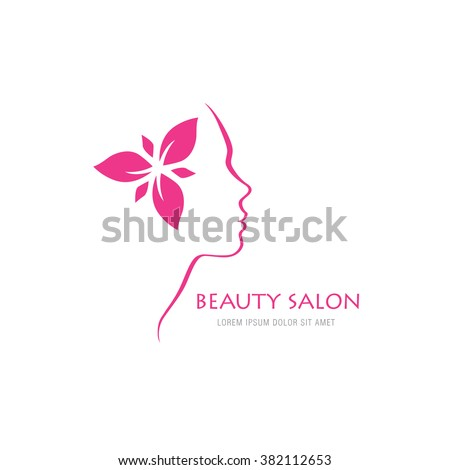 Royalty free abstract logo for beauty salon stylized for 560 salon grand junction