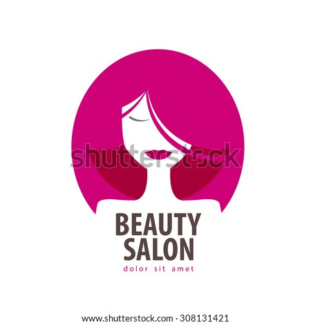 beauty vector logo design