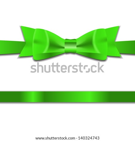 Beautyful Gift Ribbon . Vector illustration - stock vector