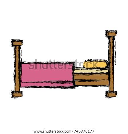 bed sleep symbol