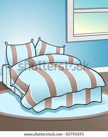 bedroom background   vector