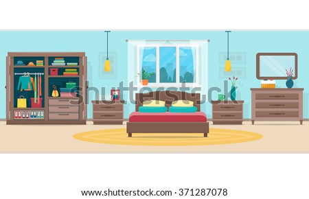 bedroom with furniture and