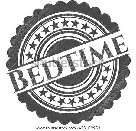 Bedtime draw (pencil strokes)