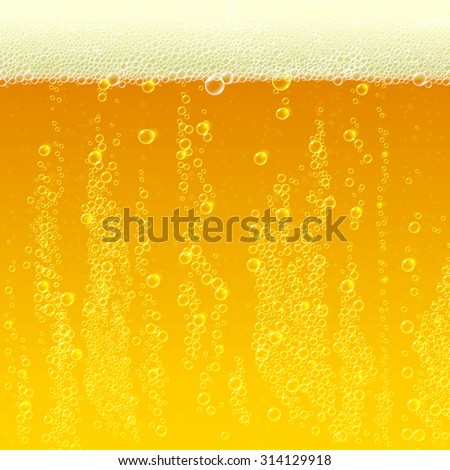beer background texture with