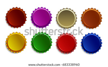 beer beverages bottle caps