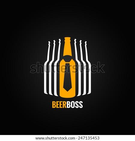 beer bottle boss concept design
