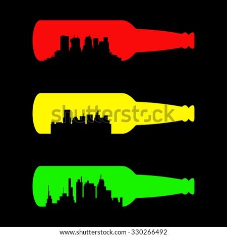 beer bottle concept design