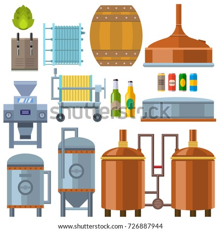 beer brewing process alcohol