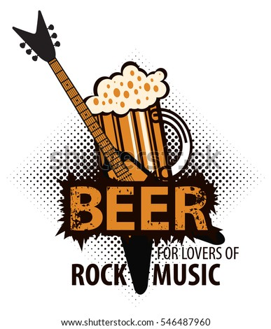 beer for lovers of rock music
