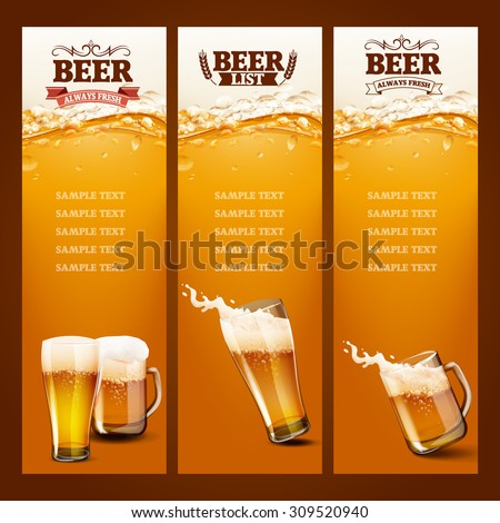 beer list for bar