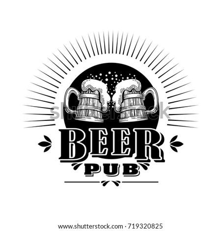 Beer logo vector.