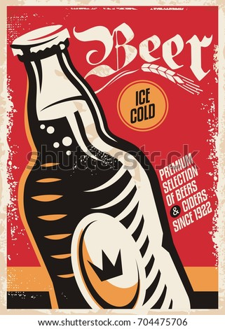 beer pub poster design for...