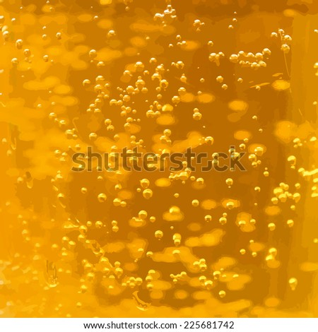 beer with bubbles background