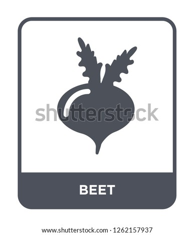beet icon vector on white background, beet trendy filled icons from Thanksgiving collection, beet simple element illustration