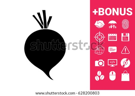 Beet root icon