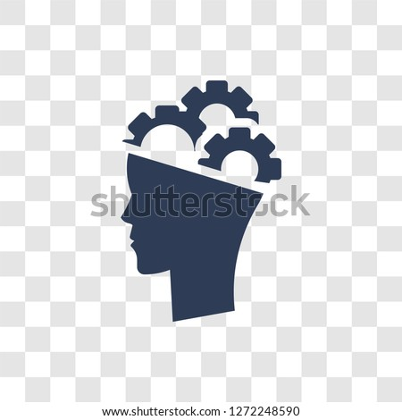 Behavioral competency icon. Trendy Behavioral competency logo concept on transparent background from Human Resources collection