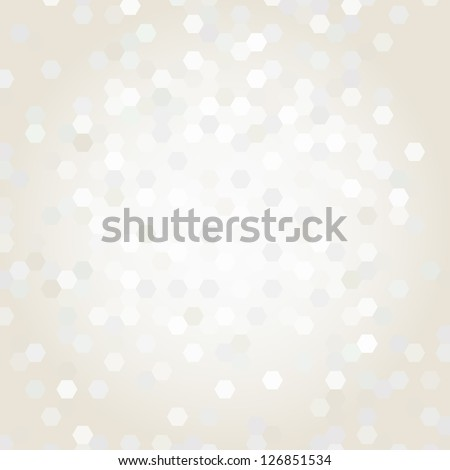 beige background with geometric shapes