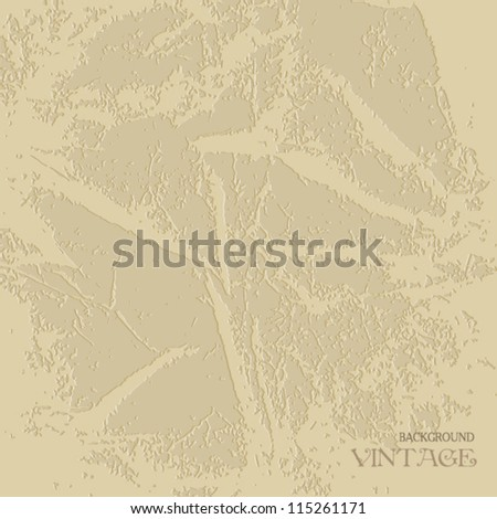 Beige background with textured plaster