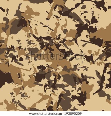beige desert seamless pattern