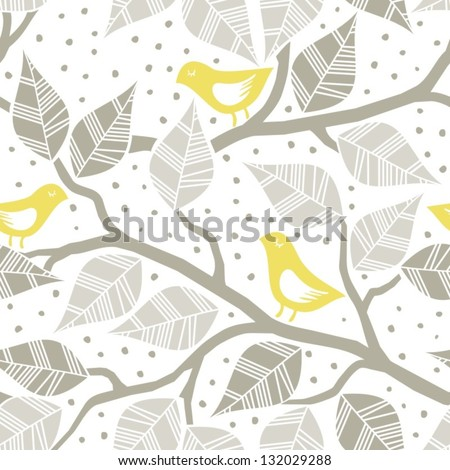 beige gray leaves and yellow