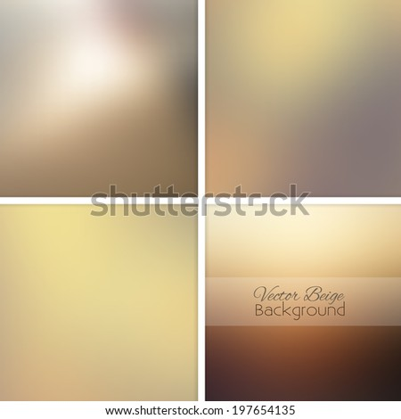 stock-vector-beige-sand-abstract-blurred-background-set-vector-illustration