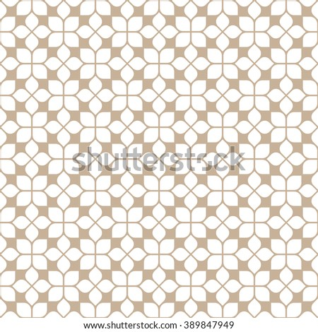 beige seamless flower pattern