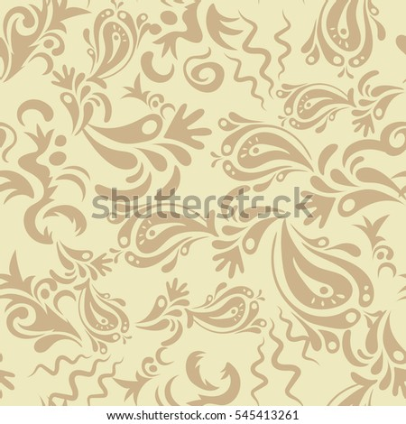 Beige seamless pattern good for greeting card for birthday beige seamless pattern good for greeting card for birthday invitation or banner medieval floral stopboris